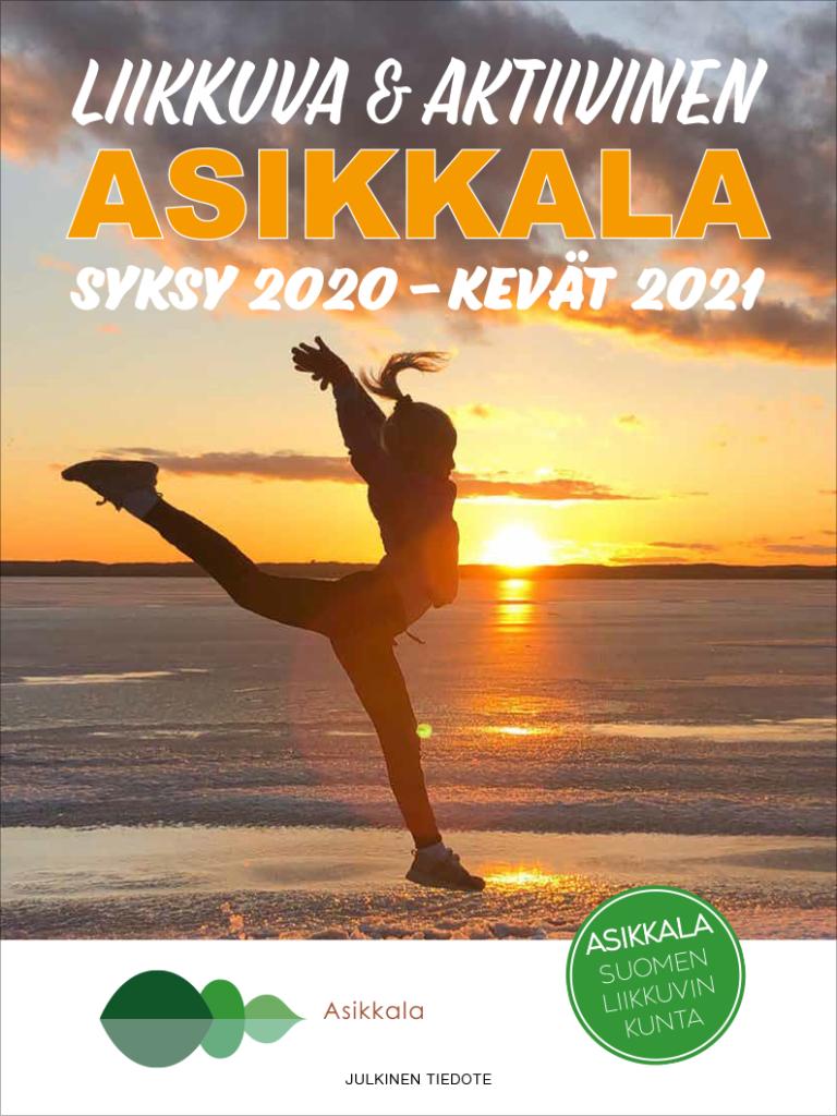 Liikkuva & aktiivinen Asikkala -lehden kansi.